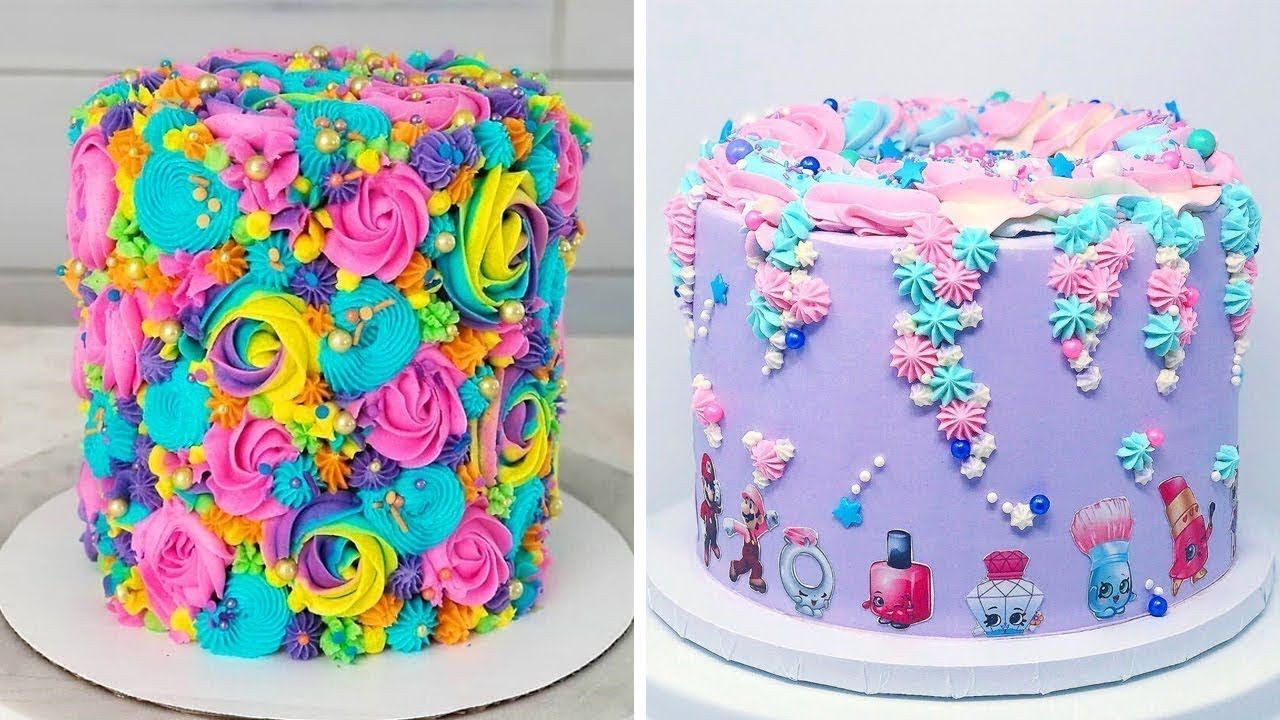 10 Quick And Easy Birthday Cake Decorating Ideas For Party So