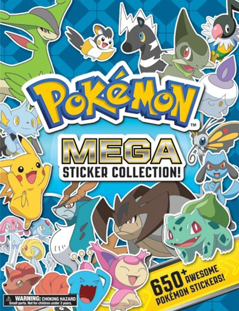 Pokemon Mega Sticker Collection Pikachu Press A Book By