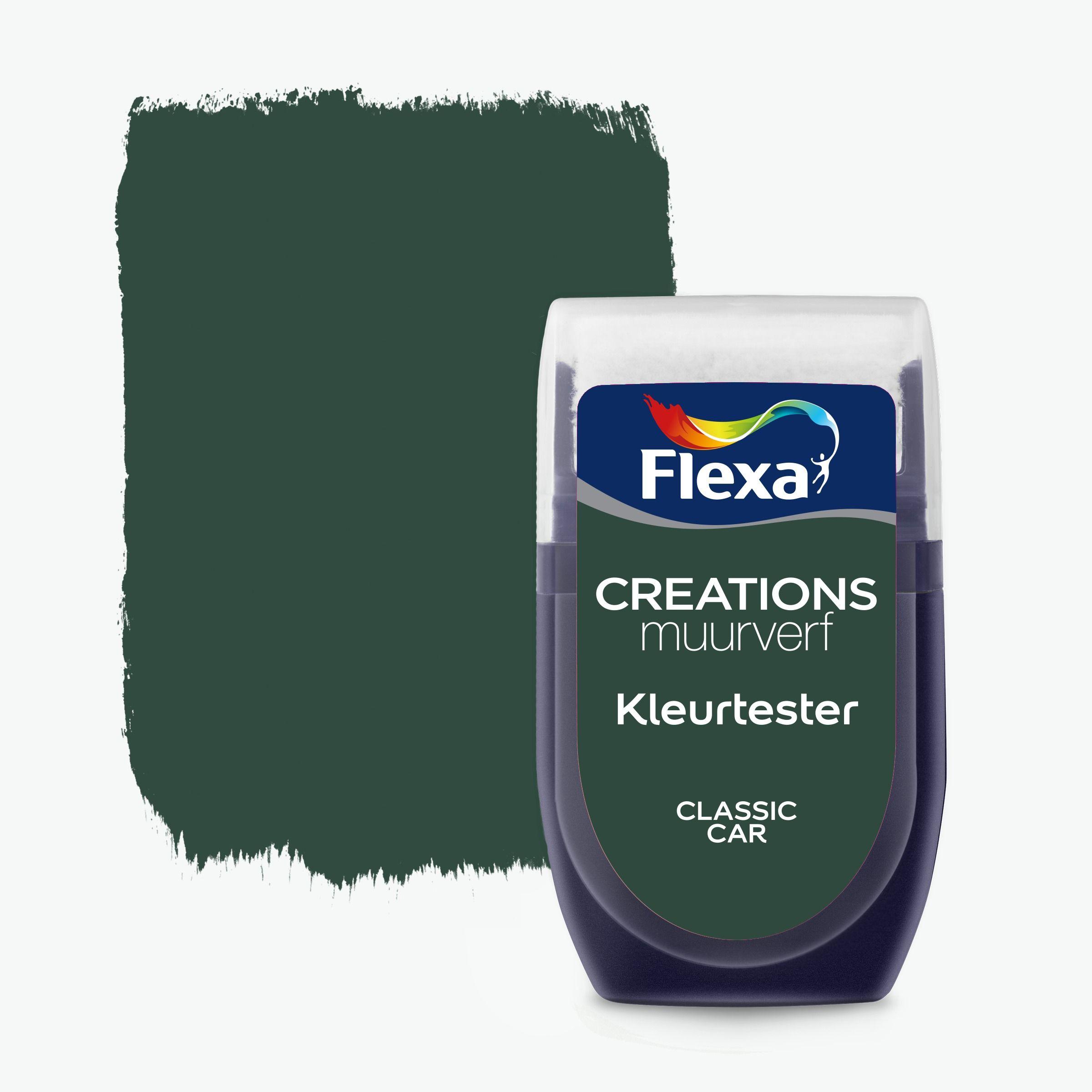 Flexa Creations muurverf Kleurtester Classic Car mat 30ml kopen?  kleurtesters | Karwei