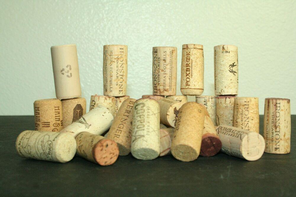 Corks Wine Bottle Corks Various Brands Lot Of 100