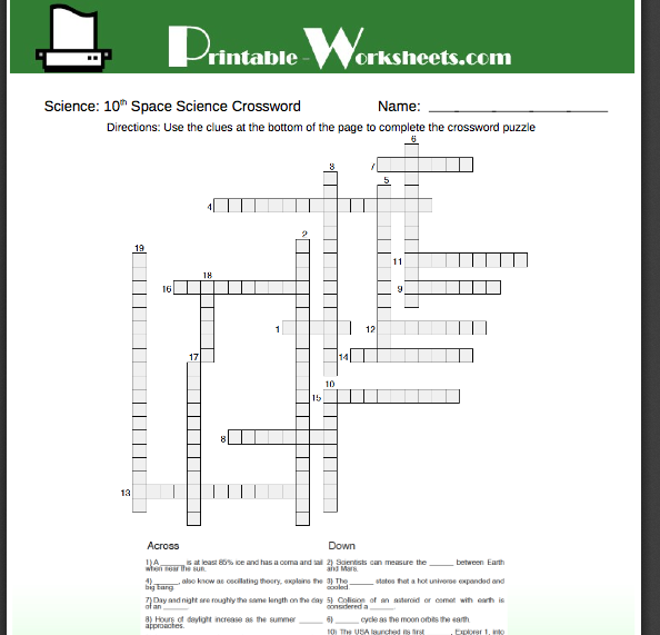 Help with 10th grade! Printable worksheets help students learn and ...