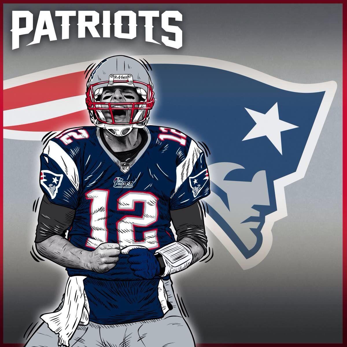 Patriots Nfl Football Tom Brady 12 New England Kickoff New England Patriots Patriots Team England Sports