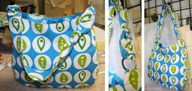Hobo Bag - Free PDF Pattern | Sewing patterns, Hobo bags and Bags