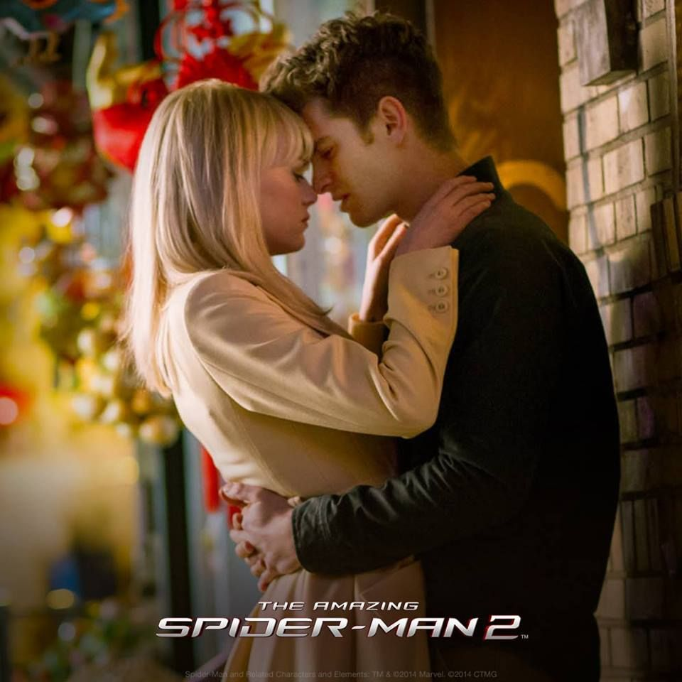 Peter And Gwen The Amazing Spider Man 2 The Amazing Spiderman 2