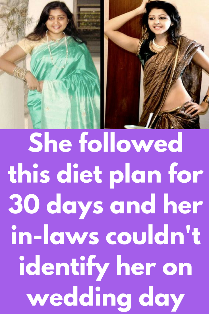 7 day wedding diet