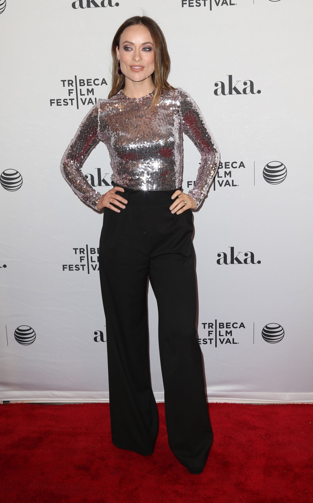 Olivia Wilde at Meadowland Premiere at Tribeca Film Festival in New York, April 2015.