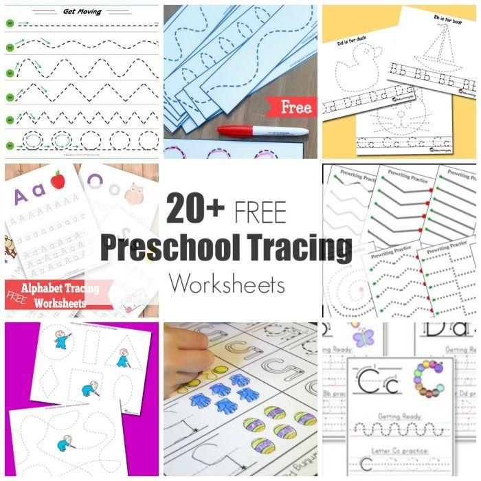 20+ Free Preschool Tracing Worksheets   GRAFOMOTRICIDAD   Pinterest