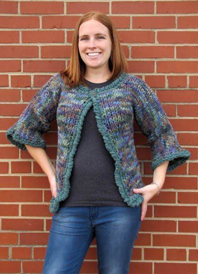 Free Knitting Pattern - Women's Jackets & Outerwear ...
