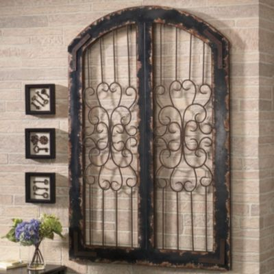 Something Like This Arched Iron Wood Piece Has Potential For