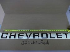 Nos Genuine Gm 14041302 Quot Chevrolet Quot Decal For Truck