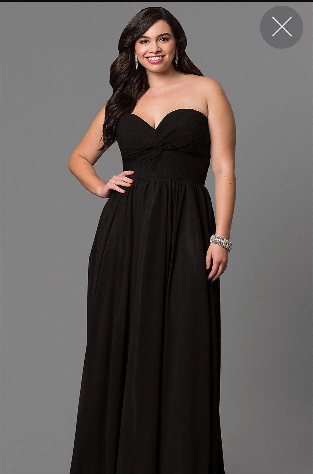 Plus Size Prom Dress Black Simple Long No Sleeves Plus Size Prom Dresses Black Prom Dresses Plus Size Prom [ 1636 x 1080 Pixel ]
