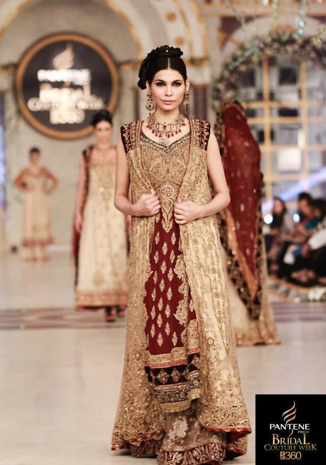 4c7c96f3b4 9 Best Pakistani Bridal Dresses By Famous Fashion Designers #bridaldresses  #weddingdresses #bridalcollections