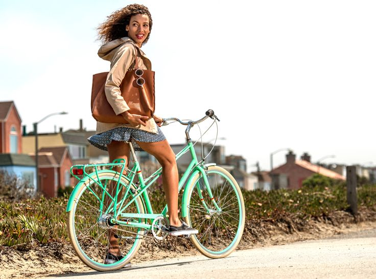 We Re So In Love With Mint Right Now City Bike Design Bicycle