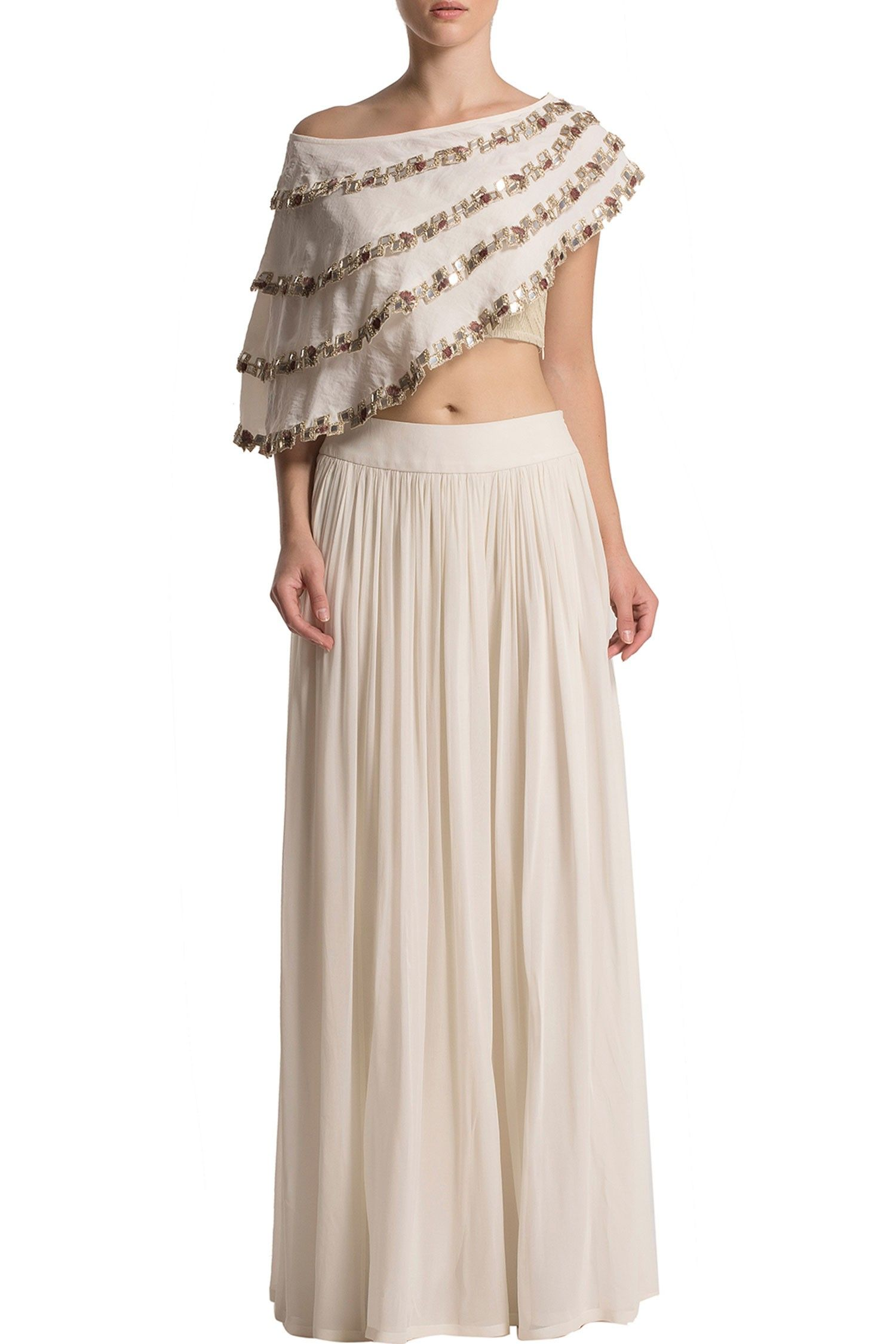 Cape and palazzo set gowns pinterest palazzo cape and indian wear