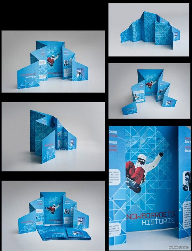 25 Best Brochure Design examples and Ideas for your inspiration - brochure design idea example