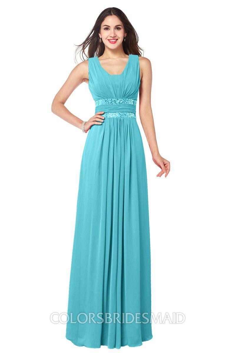Colsbm kelly turquoise bridesmaid dresses elegant dresses