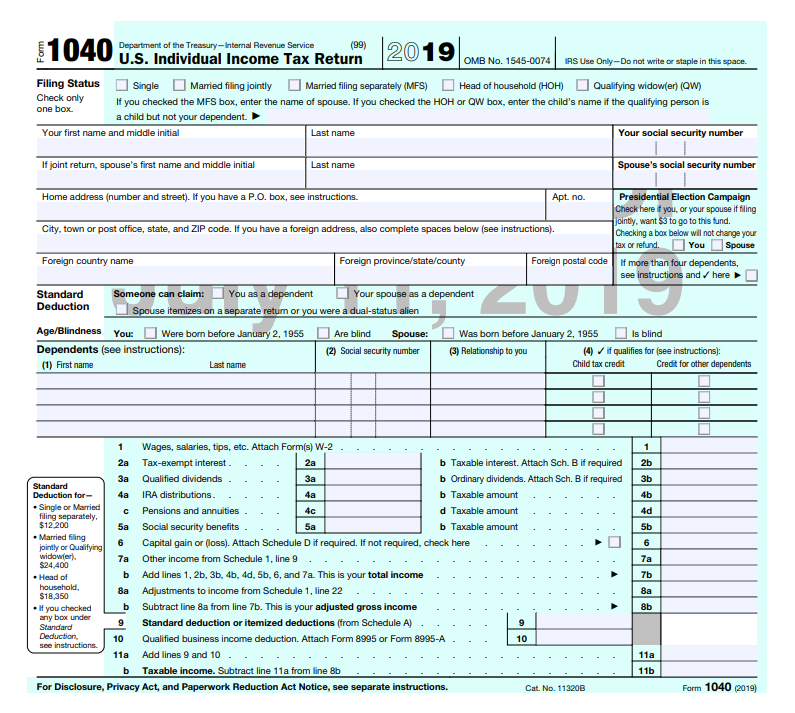 How To Get A Copy Of Your 1040 Tax Return