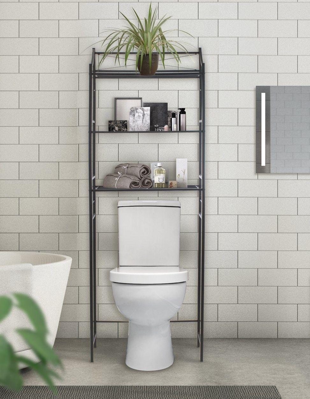 Chrome Bathroom Shelves Over Toilet Fresh Details About Chrome 3 Shelf Bathroom Over The Toilet Space Bathroom Shelves Over Toilet Bathroom Shelves Over Toilet