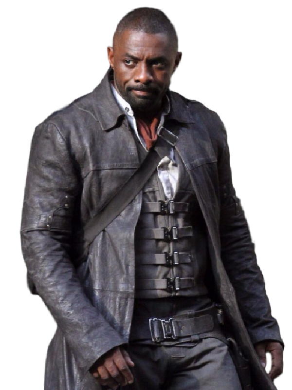 Idris Elba The Dark Tower Coat Top Celebs Jackets Leather Coat Idris Elba The Dark Tower