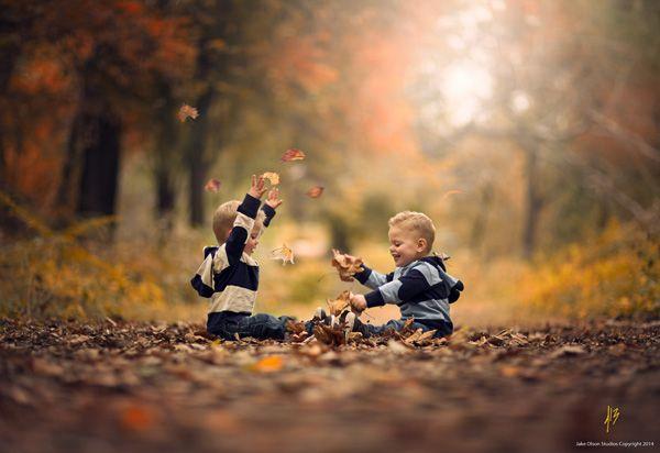 Autumn Twins by Jake Olson