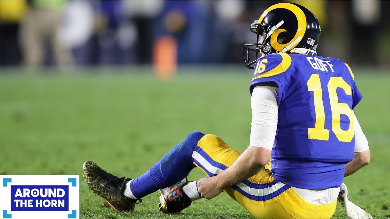 Jared Goff Is The Rams Problem Bill Plaschke Around The Horn Basketball News Jared Goff Todd Gurley