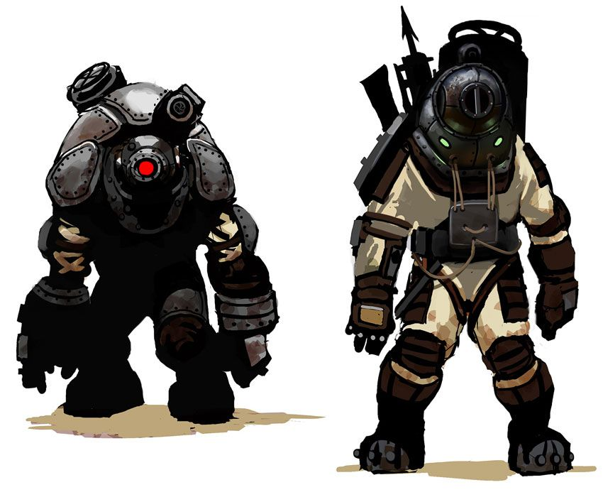 Big Daddy Early Design After Seeing This And What The Final