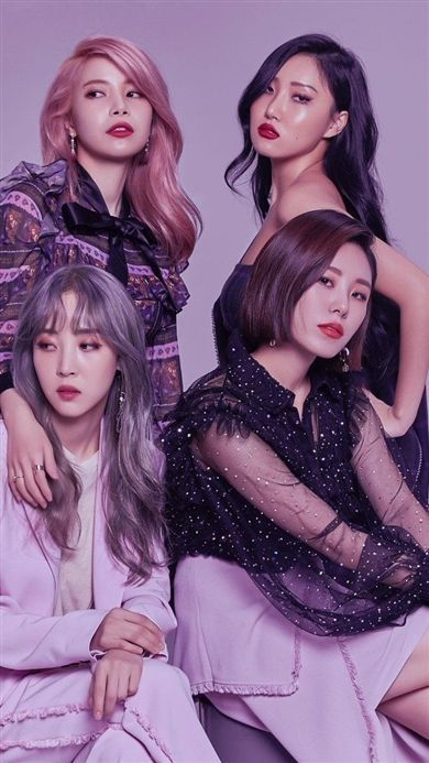 Best 12 ASK K-POP Mamamoo( Korean :마마무; stylized asMAMAMOO) is a four-member South Korean girl group under the management of WA Entertainment . The group consists of members Solar, Moonbyul, Wheein, and Hwasa. They officially debuted.