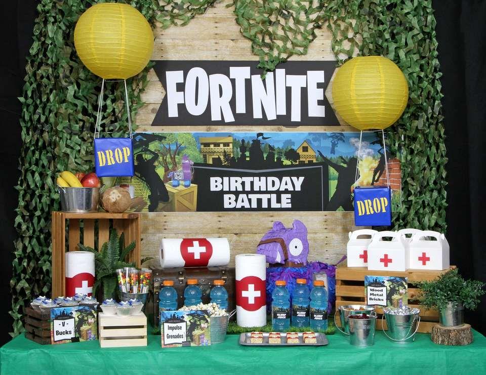 """Fortnite / Birthday """"Epic Fortnite Birthday Party"""" Pool"""
