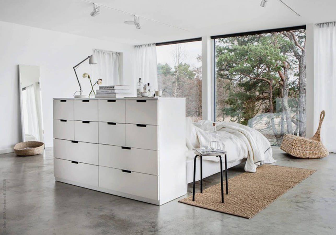 Ces Detournements De Meuble Et Objet Ikea Sont Dingues Elle Decoration Bedroom Decor On A Budget Ikea Bedroom Ikea Nordli