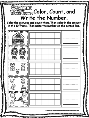 Goldilocks Color Count and Write