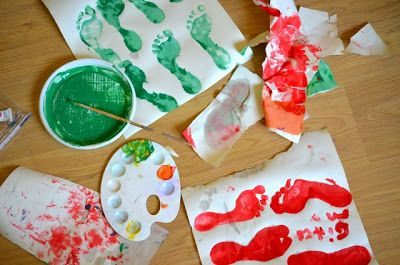 Bambini Pittura ~ Progetto corso country bambini le stagioni lavori di pittura