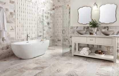 Rooms, Bathroom 12: Bianco Orion Polished Marble, Bianco ...