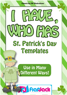 "Classroom Freebies: ""I Have, Who Has"" St. Patrick's Day Game Templates"