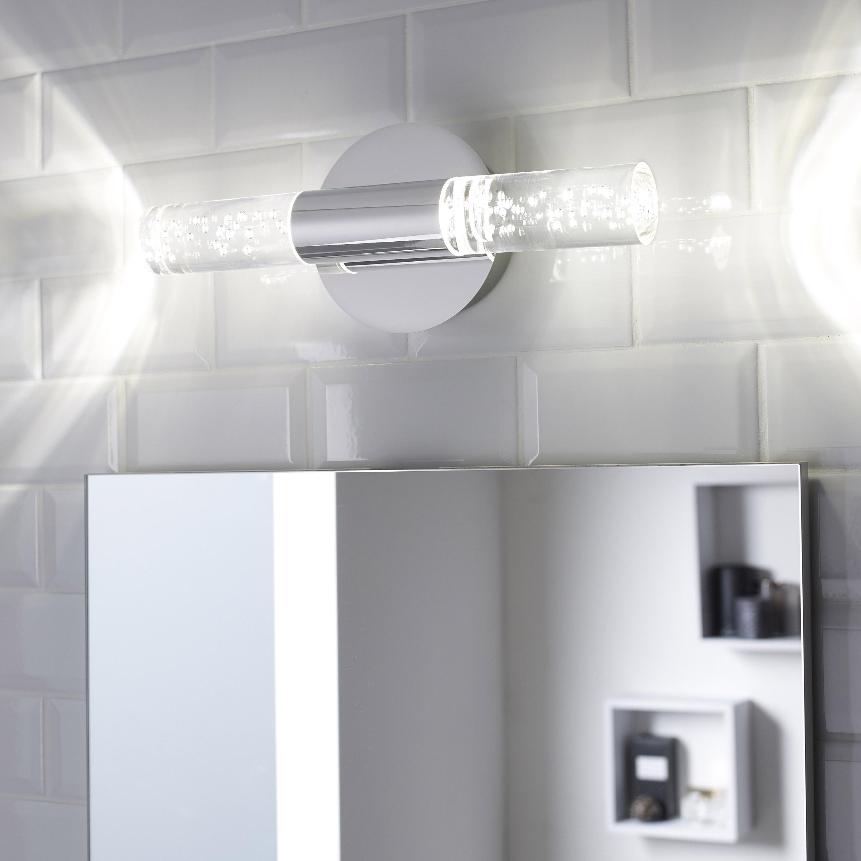 Applique Bula Led 2 X 5 W Led Integree Blanc Froid Leroy Merlin Eclairage Salle De Bain Led Eclairage