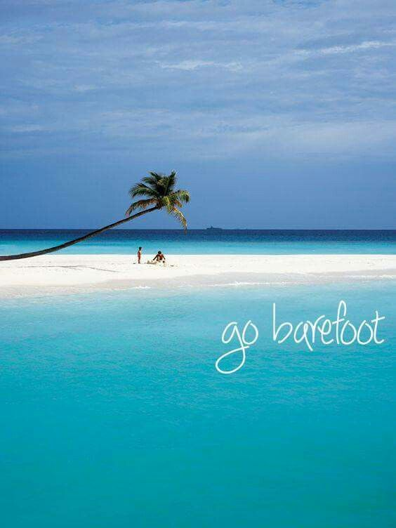 Travel Quotes | The sand fits best between your toes.