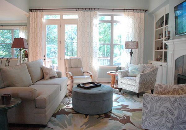 Living Room Design with Casual Style Suggestion