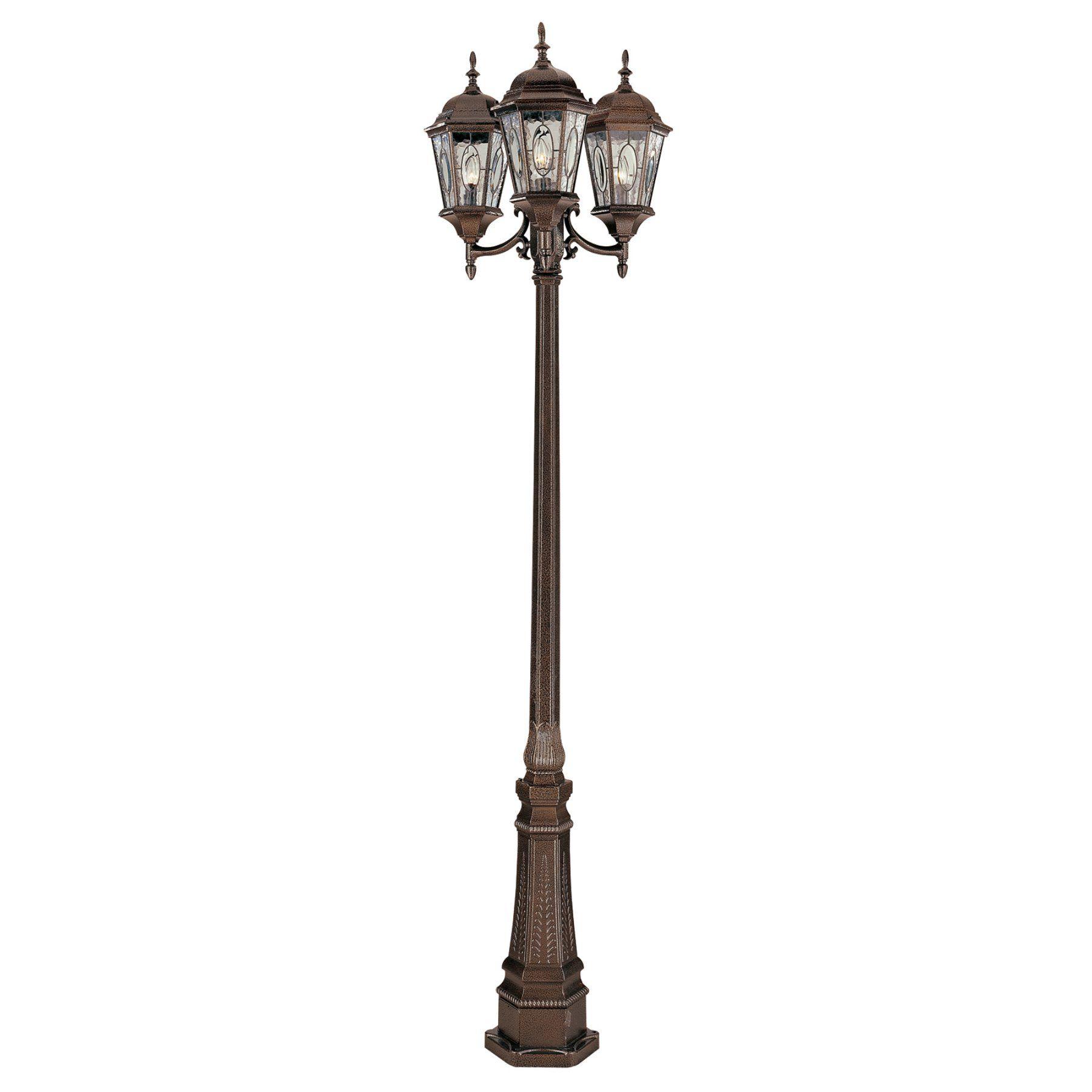 Bel Air Atkinson Outdoor Lamp Post 96h In 4719 Brz Outdoor Lamp Posts Outdoor Post Lights Lamp Post Lights