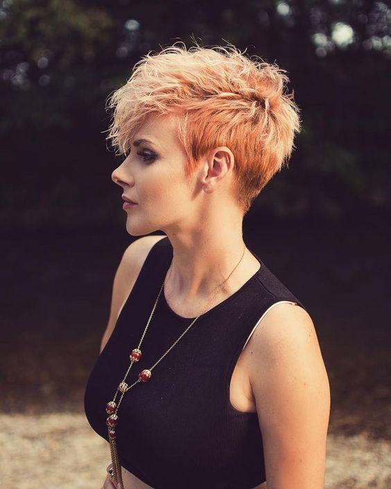 Messy Pixie Haarschnitte zu Erfrischen Ihr Gesicht #longpixiehaircuts
