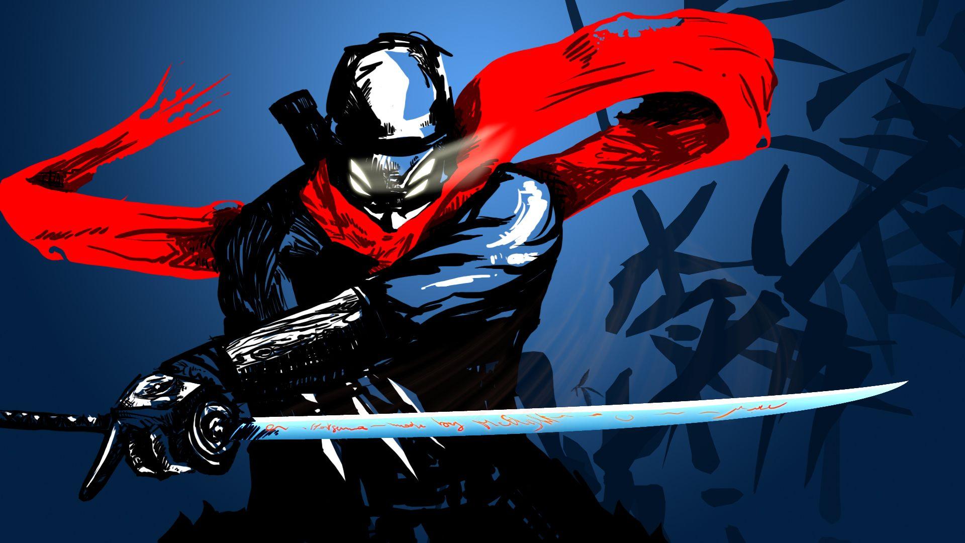 Hotsuma the Ninja Shinobi Anime warrior, Ninja art