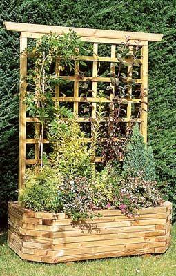 jardini re bois murale 130 treillis vente jardini re bois murale 130 treillis jardin. Black Bedroom Furniture Sets. Home Design Ideas