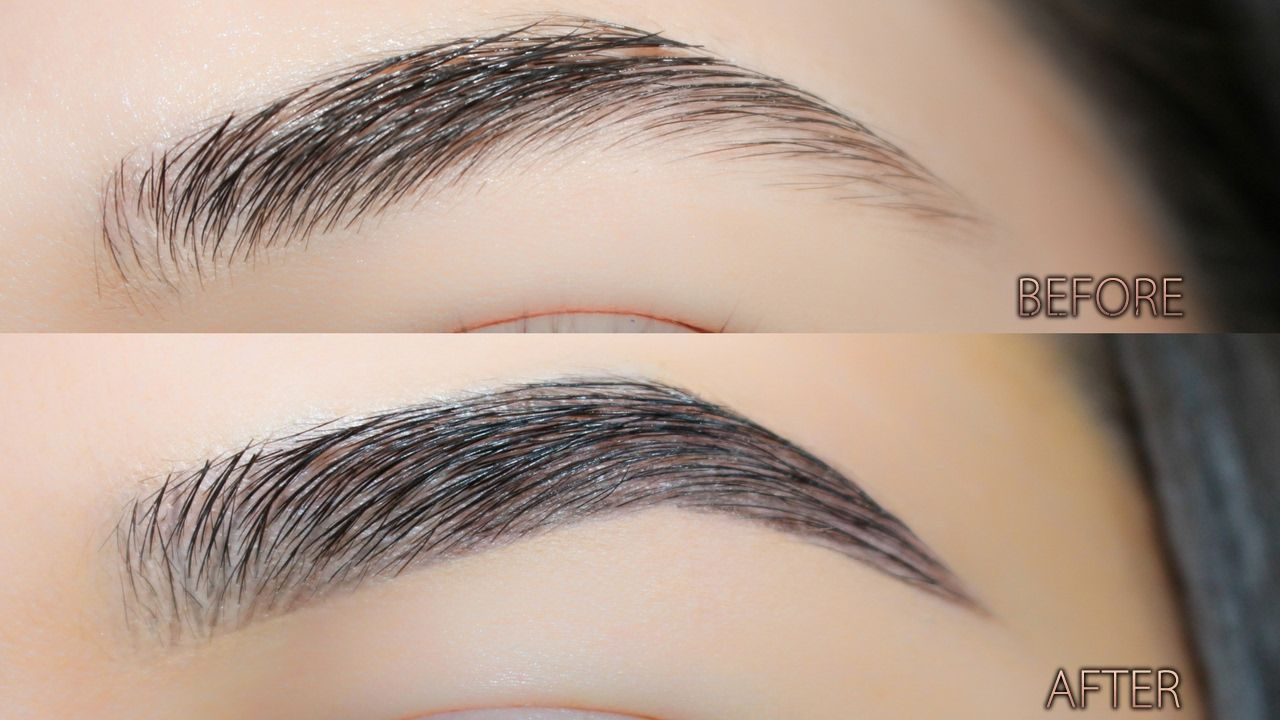 How to Make Your Brows Look Fuller   Updated Brow Tutorial ...