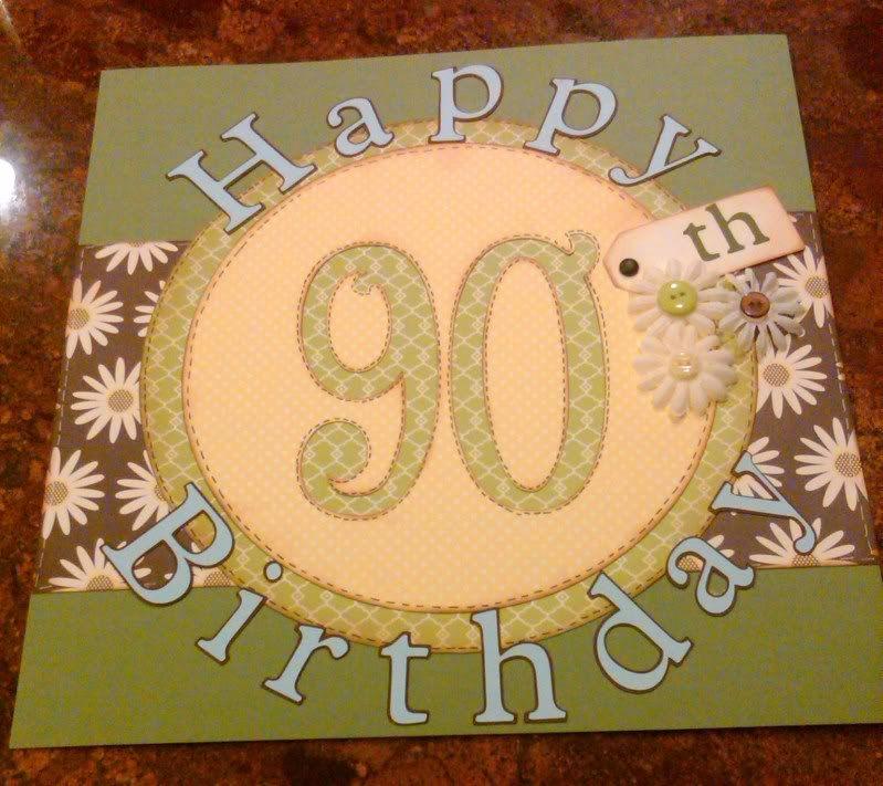 Wonderful Card Making Ideas 90th Birthday Part - 2: 90th Birthday Scrapbook Album -- Love This Idea