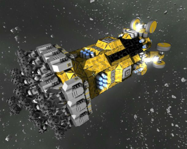 Pixeledme Mining Mole T22 Space Engineers