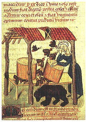 Book cover rendering of Medieval bee keepers. Description from pinterest.com. I searched for this on bing.com/images