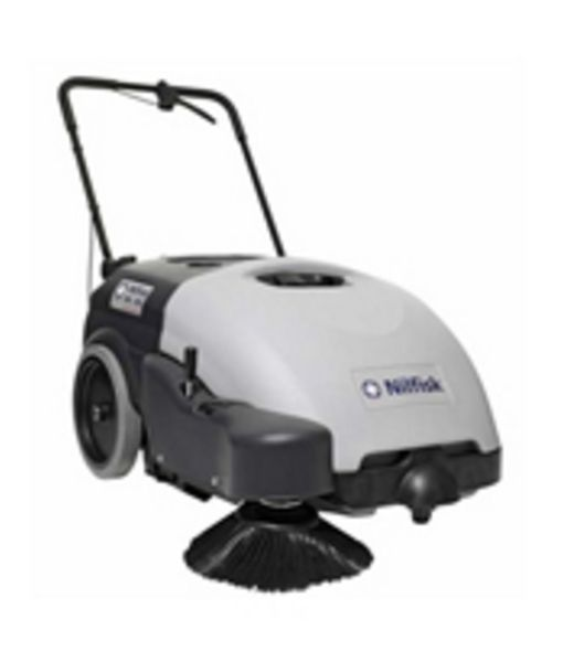 Easy To Clean Commercial Industrial Flooring: NILFISK ADVANCE SW750 WALK BEHIND FLOOR SWEEPER