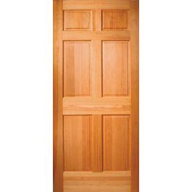 Reliabilt Hem Fir Wood Door Common 80 In X 36 In Actual 80 In