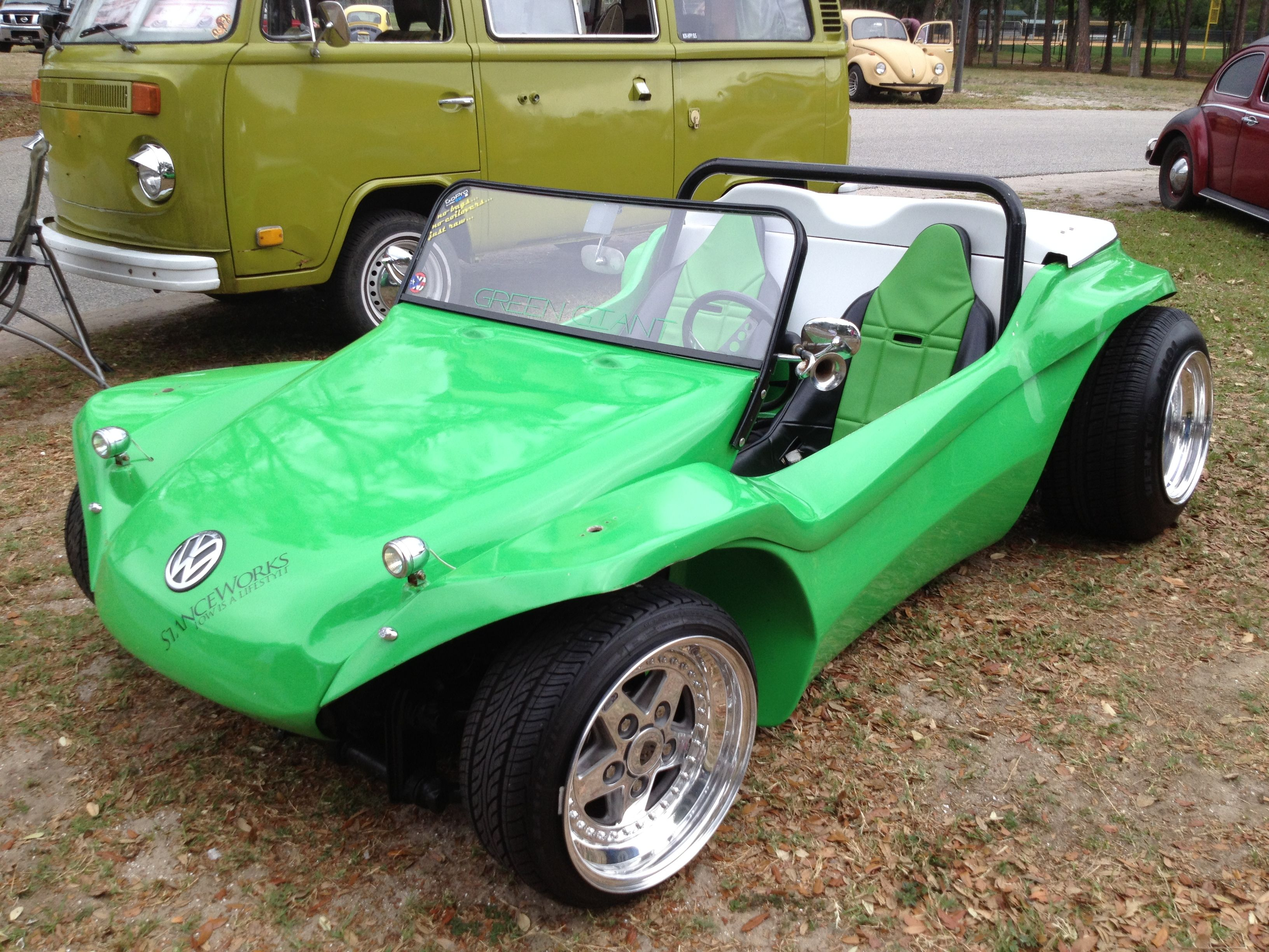 lil green dune buggy vw buggies pinterest dune dune buggies and 99. Black Bedroom Furniture Sets. Home Design Ideas