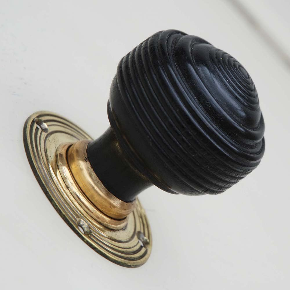 Edwardian Reproduction Ebonised Door Knobs from Willow & Stone | My ...