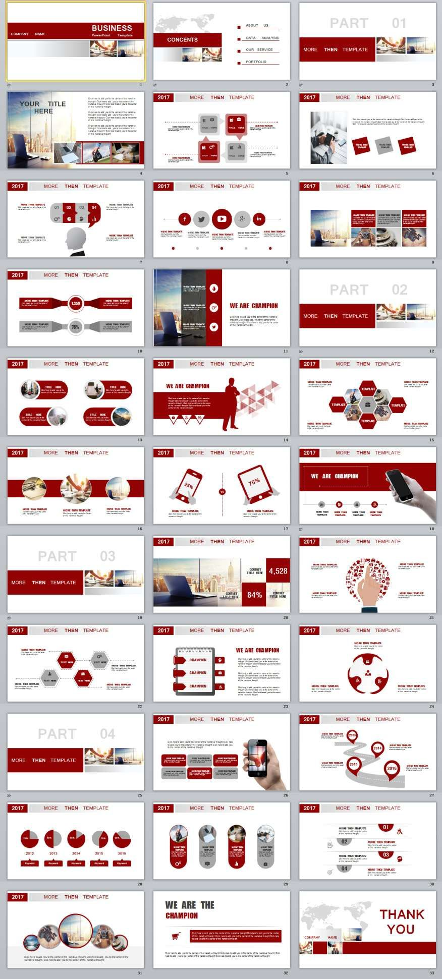 33 red business report powerpoint templates 2018 business 33 red business report powerpoint templates toneelgroepblik Choice Image