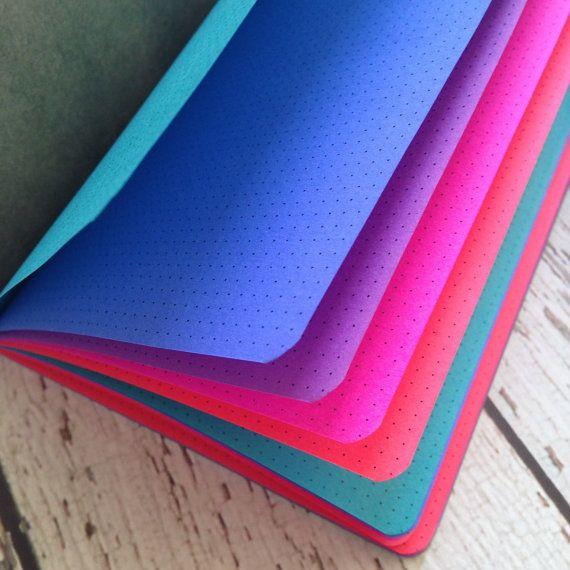 Notebook insertar TONOS JOYA Traveler opción por YellowPaperHouse